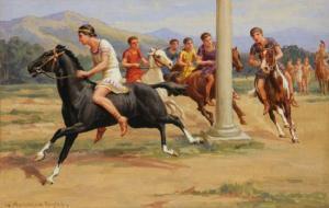 Equitation en Grèce antique