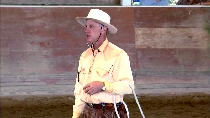 Buck Brannaman 7 Clinics: buck about groundwork