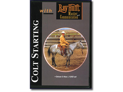 Resources: DVD Ray Hunt Colt Starting Series