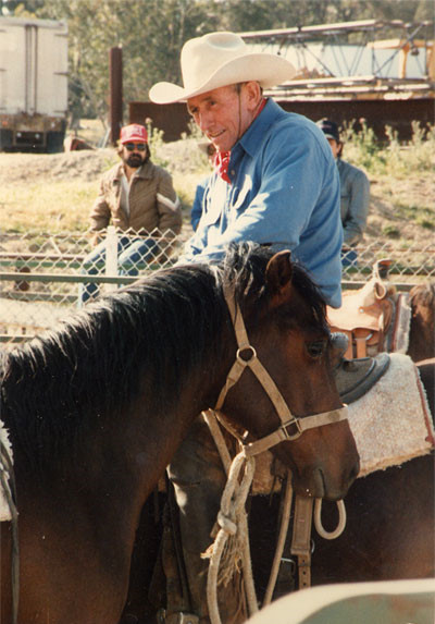 Ray Hunt, another legend of Natural Horsemanship