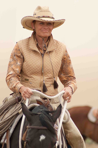 Betty Staley is a horsewoman promoting a gentle approach to horses