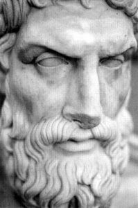 Could Epicurus be a good horseman?